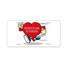 Mother-in-Law In Training Aluminum License Plate