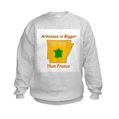 Arkansas is Bigger Sweatshirt