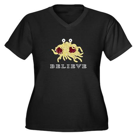 believeshirt Plus Size T-Shirt
