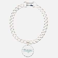 My Heart Belongs to a Firefig Charm Bracelet, One