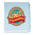 Pastafarian Seal baby blanket