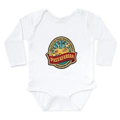 Pastafarian Seal Long Sleeve Infant Bodysuit