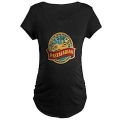 Pastafarian Seal Maternity Dark T-Shirt