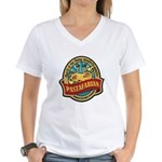 Pastafarian Seal Women's V-Neck T-Shirt