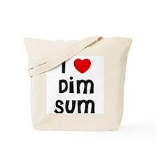 I * Dim Sum Tote Bag