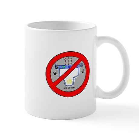 Logo Against Diaper Changing Mug !!