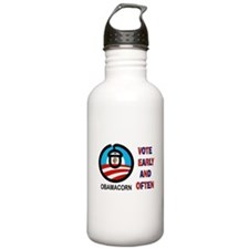 2012 FRAUD AHEAD Water Bottle