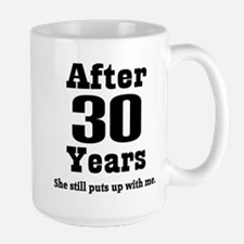 30th Anniversary Funny Quote Mugs
