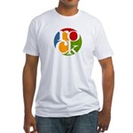 rock Fitted T-Shirt