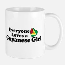 Everyone Loves a Guyanese Girl Mug