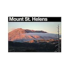 Mount St. Helens Rectangle Magnet