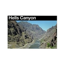 Hells Canyon NRA Rectangle Magnet