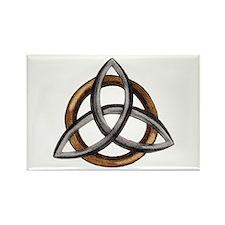 Triquetra Rectangle Magnet