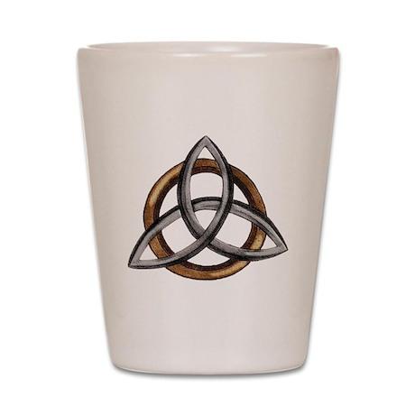 Triquetra Shot Glass