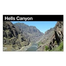 Hells Canyon NRA Rectangle Decal