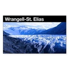 Wrangell-St. Elias NP Rectangle Decal