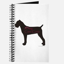 I Heart My Cane Corso Journal