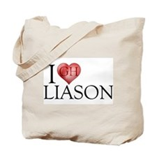 I Heart Liason Tote Bag