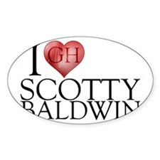 I Heart Scotty Baldwin Decal