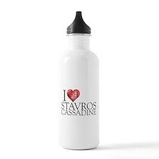 I Heart Stavros Cassadine Water Bottle