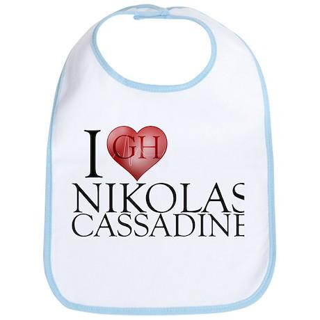 I Heart Nikolas Cassadine Bib