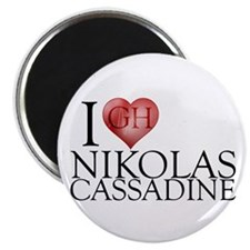 I Heart Nikolas Cassadine Magnet