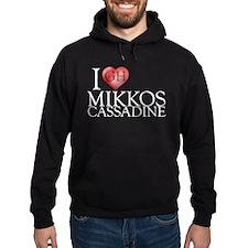 I Heart Mikkos Cassadine Hoodie (dark)