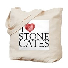 I Heart Stone Cates Tote Bag