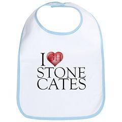 I Heart Stone Cates Bib
