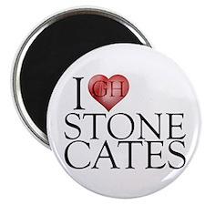 I Heart Stone Cates Magnet