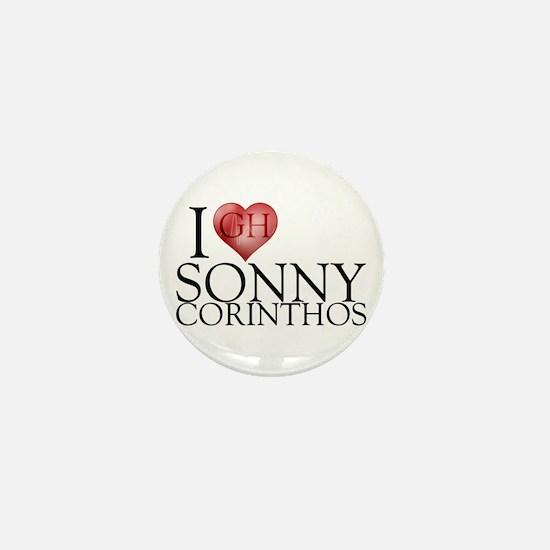 I Heart Sonny Corinthos Mini Button