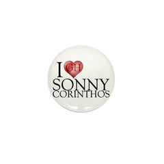 I Heart Sonny Corinthos Mini Button (10 pack)