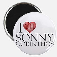 I Heart Sonny Corinthos Magnet