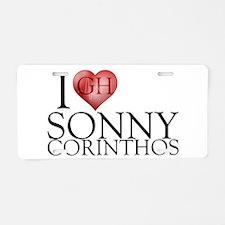 I Heart Sonny Corinthos Aluminum License Plate