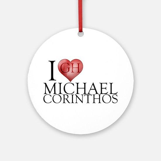 I Heart Michael Corinthos Round Ornament