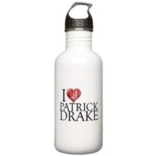 I Heart Patrick Drake Stainless Water Bottle 1.0L