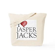 I Heart Jasper Jacks Tote Bag