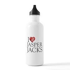 I Heart Jasper Jacks Water Bottle