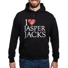 I Heart Jasper Jacks Hoodie (dark)