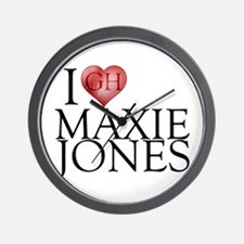 I Heart Maxie Jones Wall Clock