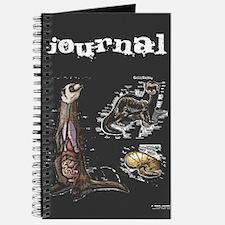 Cute Ferret art Journal
