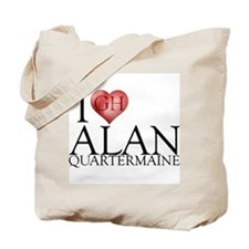 I Heart Alan Quartermaine Tote Bag