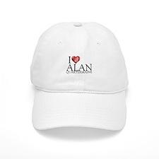 I Heart Alan Quartermaine Baseball Cap