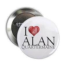 "I Heart Alan Quartermaine 2.25"" Button"