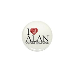 I Heart Alan Quartermaine Mini Button (10 pack)