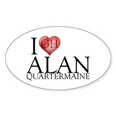 I Heart Alan Quartermaine Decal