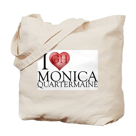 I Heart Monica Quartermaine Tote Bag