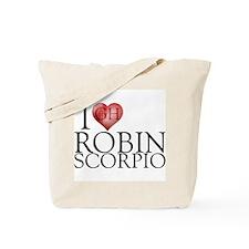 I Heart Robin Scorpio Tote Bag