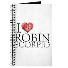 I Heart Robin Scorpio Journal