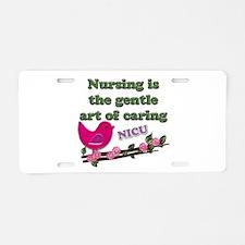 Nicu nurses Aluminum License Plate